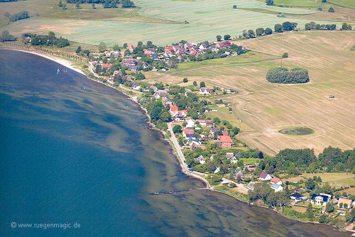 Luftaufnahme neuendorf bei putbus - Strand zwembad zonder grenzen ...