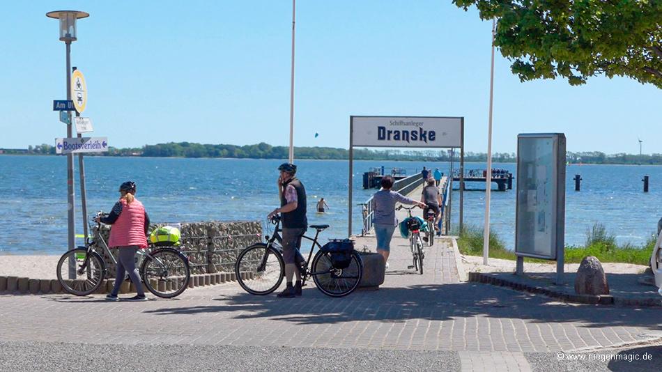 Brückenzugang Seebrücke Dranske