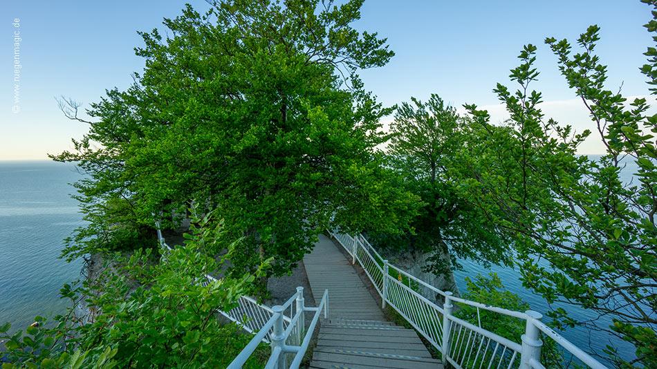 Zugang zur Besucherplattform am Königsstuhl