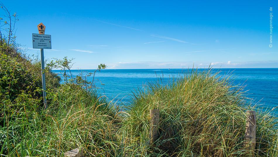 Blick auf die Ostsee vom Nordwestufer