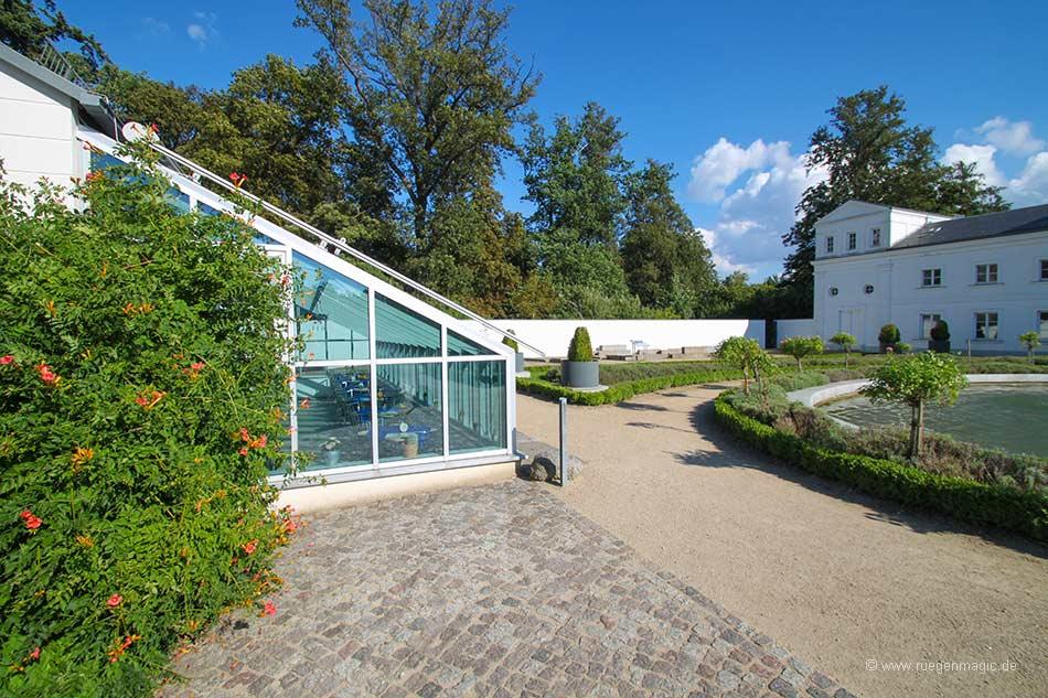 Innenhof der Orangerie