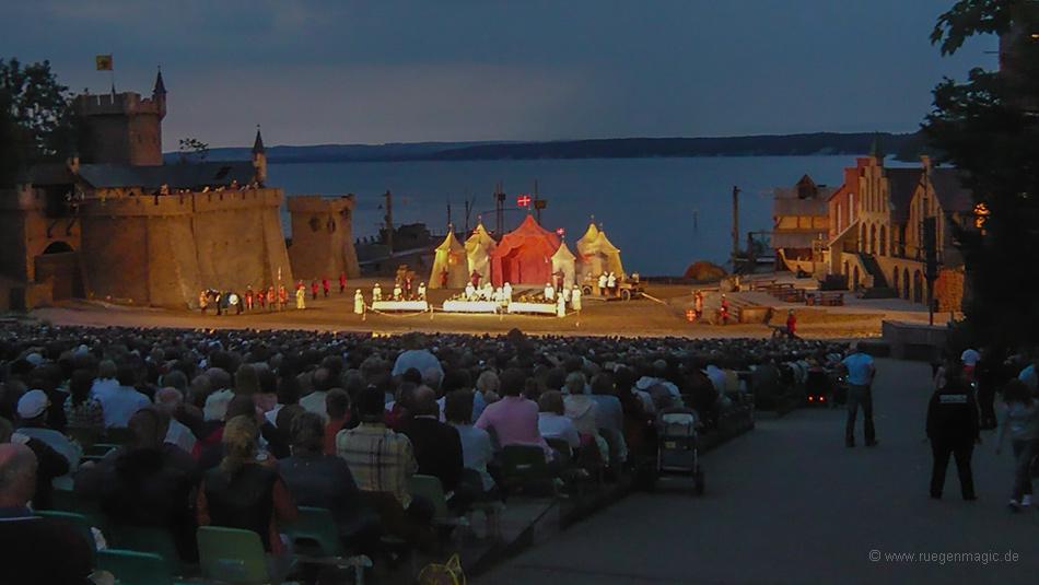 Bühne der Störtebeker Festspiele