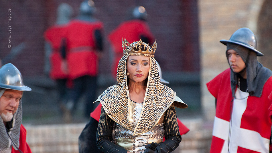 Daniela Kiefer als dänische Königin