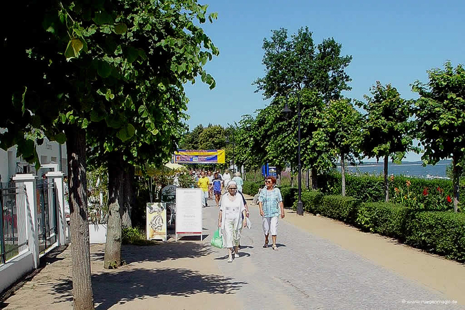 Strandpromenade Ostseebad Binz