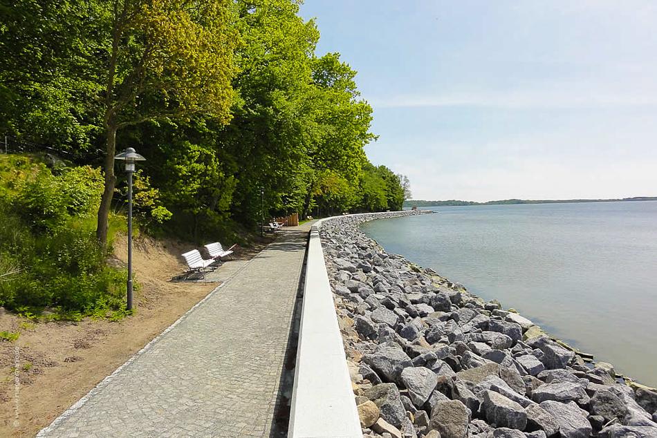 Uferpromenade Lauterbach/Goor