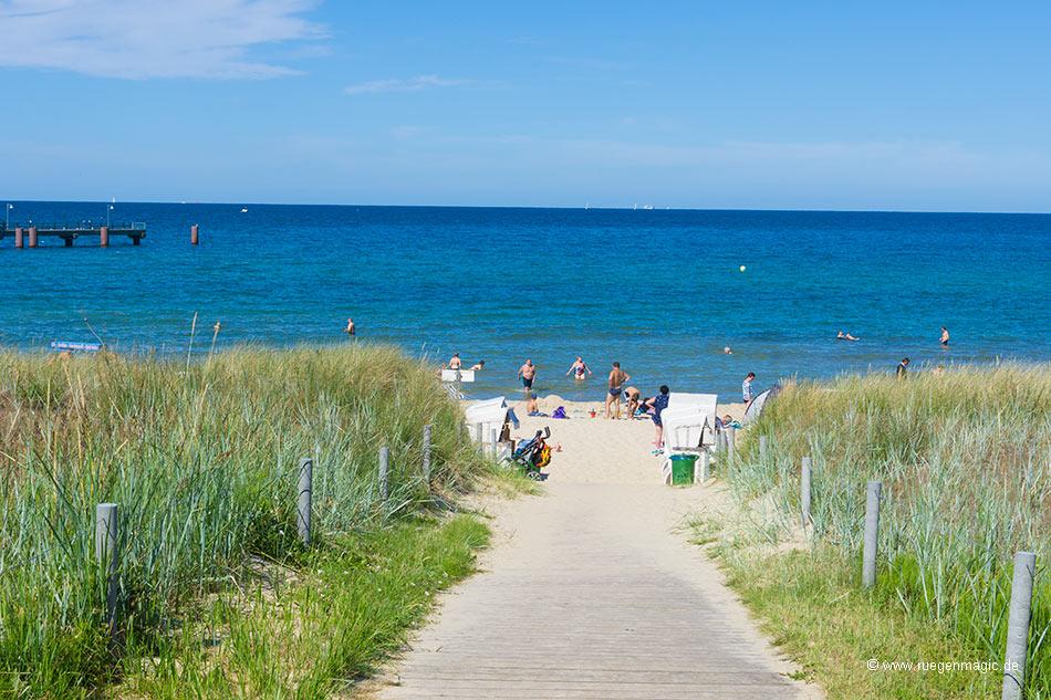 Strandzugänge Ostseebad Göhren