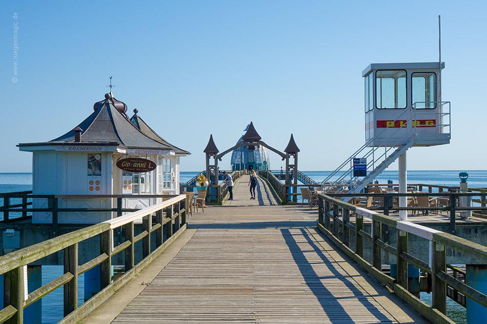 Rettungsturm auf der Selliner Seebrücke
