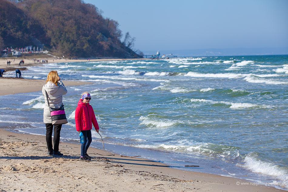 Der Baaber Strand im März