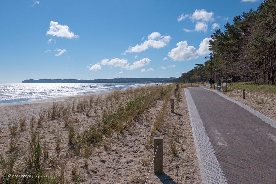 Strandpromenade im OT Prora