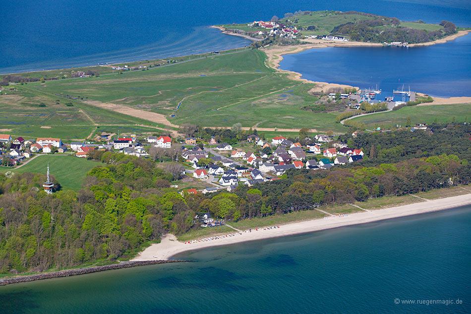 Ostseestrand Thiessow - Luftaufnahme