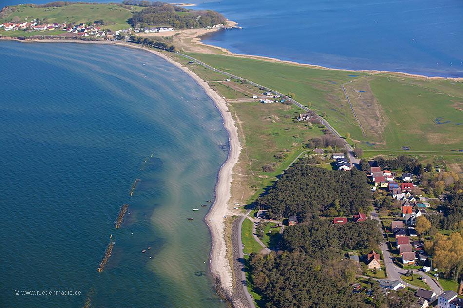 Weststrand Thiessow - Luftaufnahme