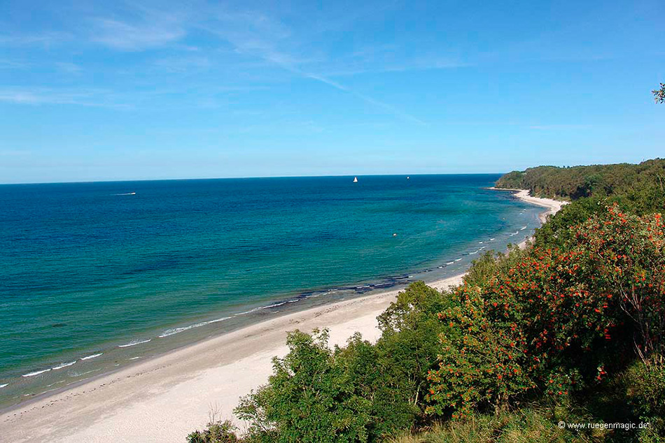 Nordufer Halbinsel Wittow (Ostsee)