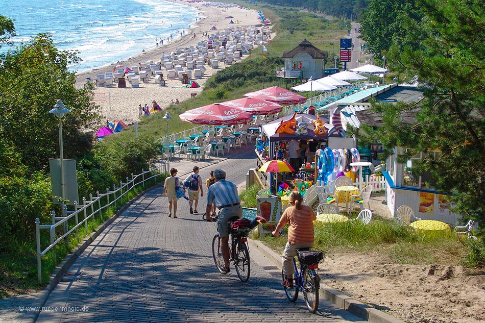 Südstrand Sellin - Promenade