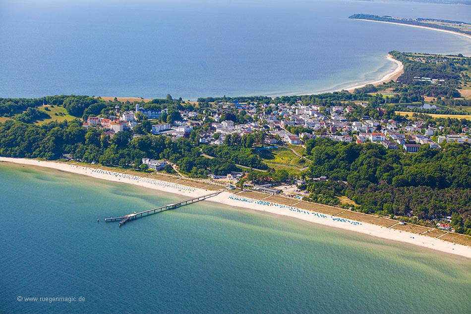 Luftaufnahme vom Göhrener Nordstrand