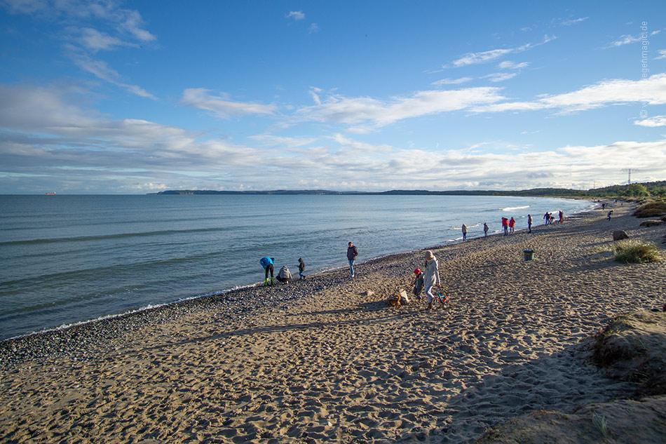 Blick vom Mukraner Strand in die Prorer Wiek