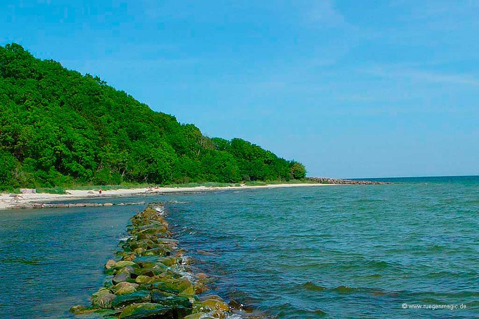 Strand Südperd Thiessow (Übergang zur Ostsee)