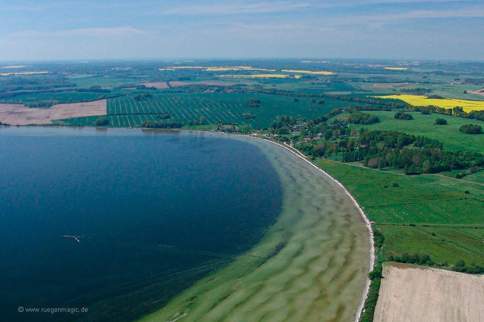 Luftaufnahme Surfrevier Stresow