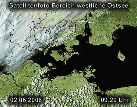 Satellitenfoto Rügen
