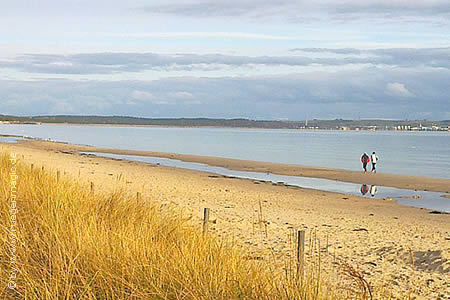 Strandspaziergang zum Herbstende im Ostseebad Binz