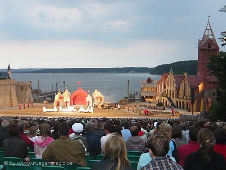Störtebeker-Festspiele auf der Insel Rügen