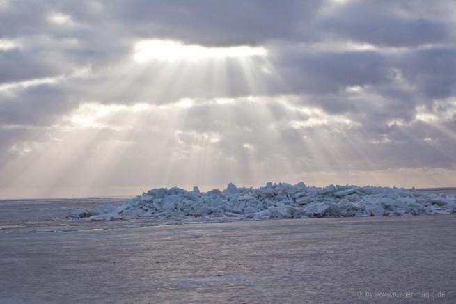 Eisschollen Rügen