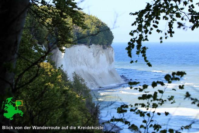 Wanderweg am Hochufer bei Sassnitz