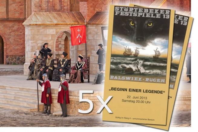 Freikarten Störtebeker-Festspiele 2013