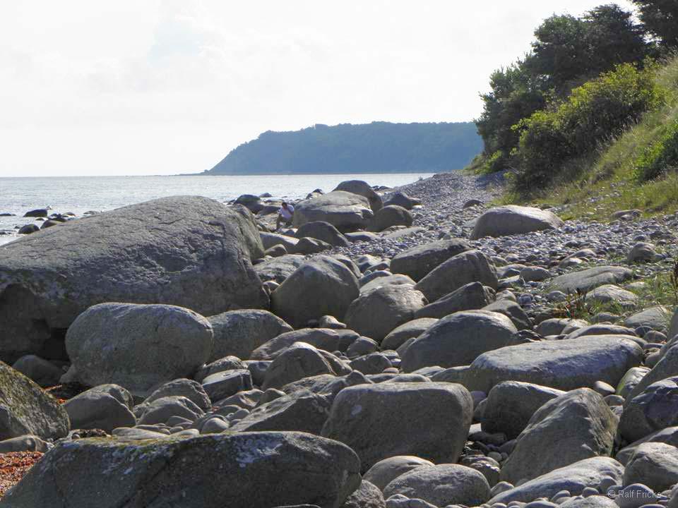Der Steinstrand am Kap Arkona
