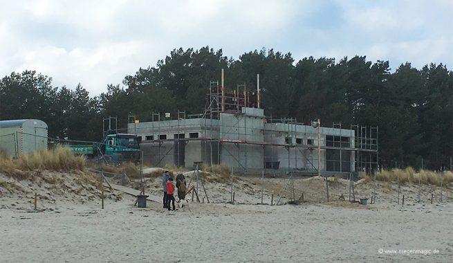 Neuer Rettungsturm in Prora