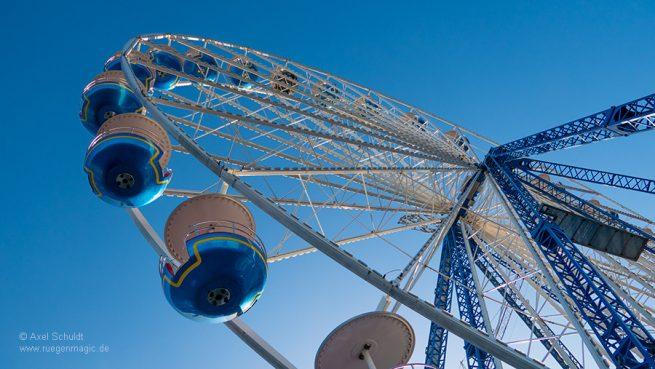 Riesenrad auf dem Hafenfest