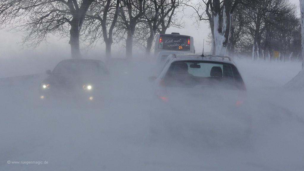 Schneesturm auf Rügen?