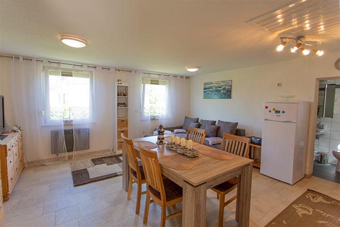Klettergerüst Wohnzimmer : Strandnaher 42m² bungalow für 4 personen in drewoldke